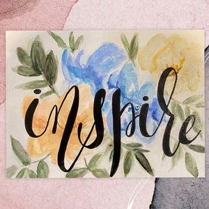 """WATERCOLOUR ON CANVAS 